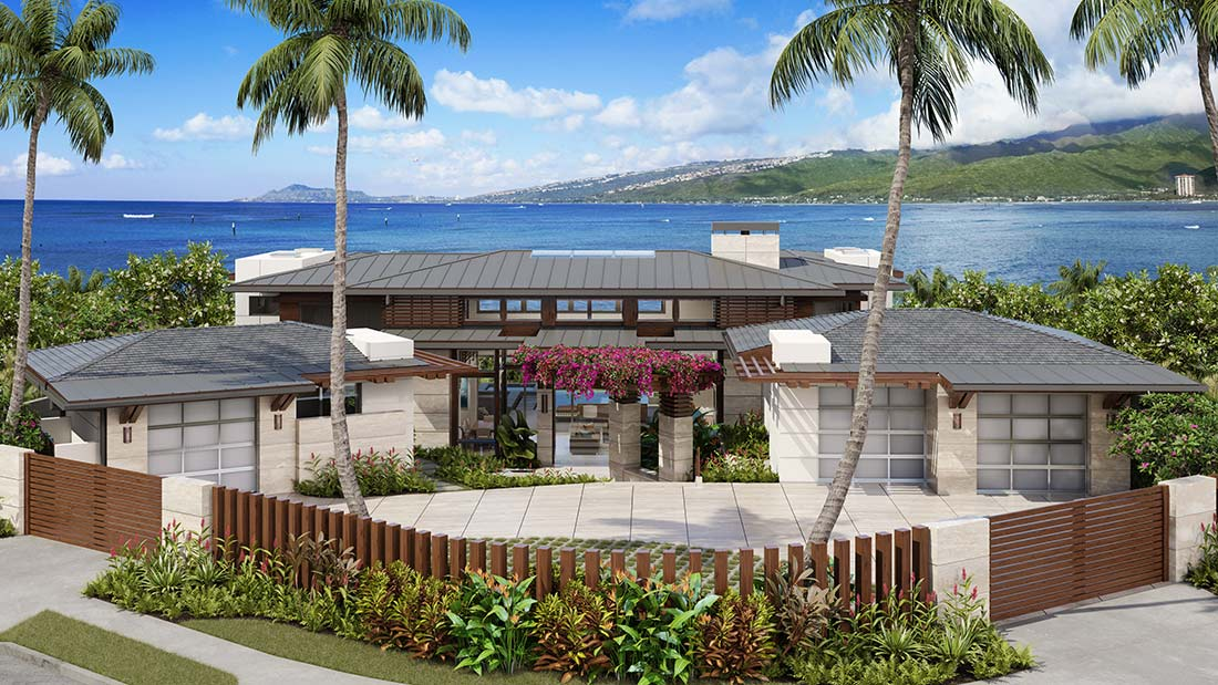 Honolulu hawaii for Hawaii home builders