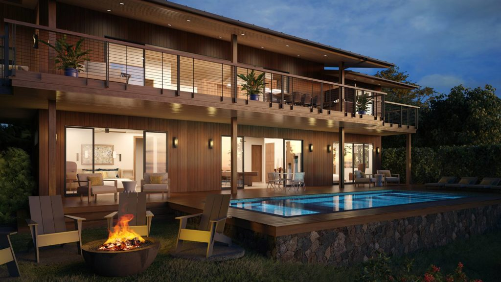 Kukuiula-Kauai-Hawaii-3D-Renderings-Dusk-House